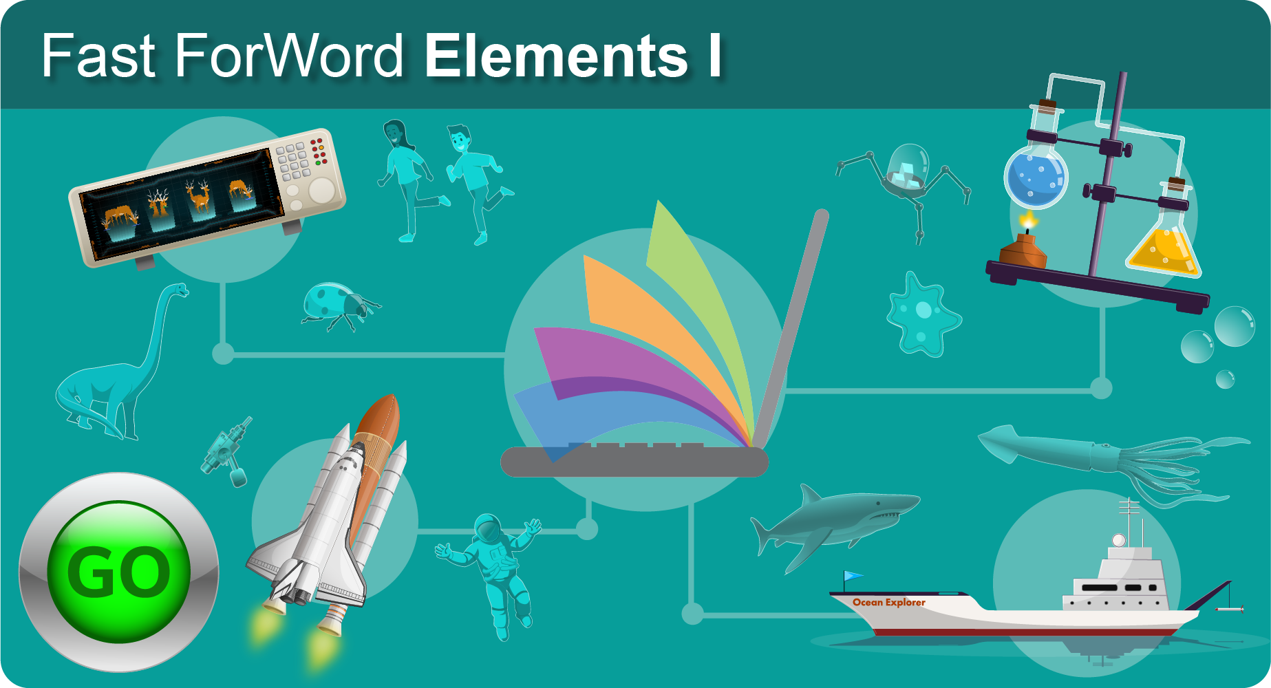 Fast ForWord Literacy component Elements I selection banner